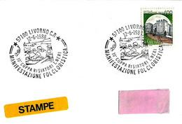 ITALIA - 1988 LIVORNO 10^ Coppa Risiatori, Gara Di Remi Mare Aperto (vogatori) - Su Busta Viaggiata Per Bologna - 4759 - Rowing