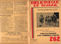 Collectionne Les Timbres-poste Bibliotheque De Travail - Altri Libri