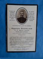 Genealogie FAIRE PART DECES  POILU MILITAIRE  29 EME REGIMENT TERRITORIAL 1917 CERNY EN LAONNOIS AISNE - Documents