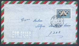 Scouting. Letter From Faro To Guinea Bissau With 2$50 Stamp From Scouting. Scouten. Pfadfinder. - Covers & Documents