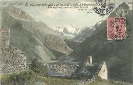 CPA Du Dauphiné De La Grave Au Lautaret - Le Glacier D'Arsine Et La Montagne Des Agneaux. - Unclassified