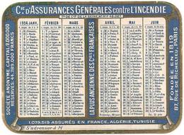 Calendrier De La Compagnie D'Assurances Générales Sur La Vie 1924 - Small : 1921-40