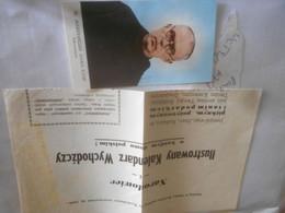 Papier Vieux L Pologne/ Pretre Religieux  Document   Photo - Collections