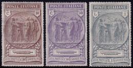 ✔️ Italia 1923 - Camicie Nere - Sass. 147/149 (o) - €120 - Neufs