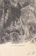 9502) In Der STEINWANDKLAMM Mit Frauen Und Mann 1912 !! - Autres