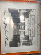 Photo Publicitaire Coffres Forts BAUCHE 1929 Exposition Commercial De Wignehies. - Collections