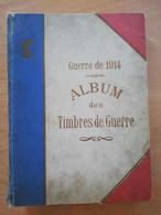 Album DELANDRE Timbres De Guerre Croix Rouge (plus De 670 VIGNETTES Voir Liste Dans Description) - Military Heritage
