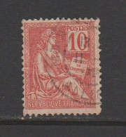 Mouchon: Type II N° 116, 117, 118 - 1900-02 Mouchon