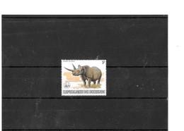 Burundi Rhinoceros WWF 1983 NSC - Rhinoceros