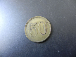 Jeton France - 50 Centimes - Unclassified
