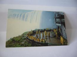 NIAGARA FALLS CHUTES NIAGARA TABLE ROCK HOUSE LOOKOUT CANADA CP FORMAT CPA 1992 - Modern Cards
