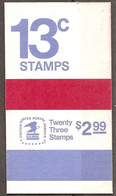 US 1975 Booklet Liberty Bell 23 Stamps Of 13c. MNH ** Scott BK128 - 1941-80
