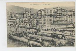BATEAUX - MARINE DE GUERRE - CORSE - BASTIA - Le Vieux Port (sous Marins ) - Bastia