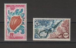 Wallis Et Futuna 1962-63 Vie Marine PA 18-19 2 Val ** MNH - Unused Stamps