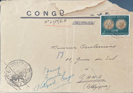 Congo Belge, Lettre Scan R/V. - 1947-60: Covers