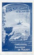 Gde SEMAINE D' AVIATION - ROUEN 1910 - BELLE & TRES RARE CARTE Par MAURY (série B) - - Reuniones