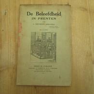 De Beleefdheid In Prenten Delcroix Onderwijzer 100 Prenten School Leerlingen 1924 - Antique