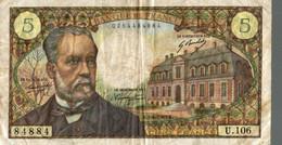 Billet 5 Francs 1969 - 5 F 1966-1970 ''Pasteur''