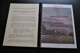 Philippe-Joseph LEFEVRE Histoire De Court-Saint-Etienne Choix De Dessins Régionalisme CHIREL 1998 Mont-Saint-Guibert - Belgio
