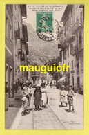 06 ALPES MARITIMES / ROQUEBILLIERE / RUE DALLONI / ANIMÉE / 1916 - Roquebilliere