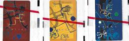 3 Télécartes - Neuves, Sous Blister - POLYNESIE Française - Art MAOHI - 1997 - 30 Unités - Tirage 20 000 Ex - Französisch-Polynesien