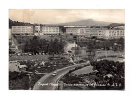 """13840"""" BAGNOLI(NAPOLI)VEDUTA PANORAMICA DEL COMANDO N.A.T.O. """" VEICOLI ANNI '50-CART. POST. NON SPED. - Napoli (Naples)"""
