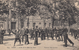 (199)   CPA  Loos  Jardin De La Salle Des Fêtes  Festival Hall Garden - Loos Les Lille