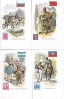 22 Cartes - La POSTE Au Pérou Danemark Venezuela Mexique Deccan Transwall - En Hollande Allemagne Bolivie Abyssinie... - Poste & Facteurs