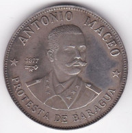 Cuba 20 Pesos 1977 Antonio Maceo , En Argent . KM# 40, Superbe - Cuba