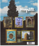 FEUILLET MAGRITTE  ** / MNH  Départ 0,80 - Foglietti