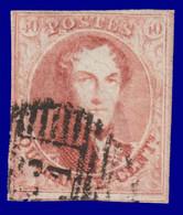 N°8 - 4 Belles Marges Avec 1 Voisin En Dessous - Signé W.B. - 1851-1857 Medallions (6/8)