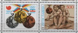 21/8 7/3 Yougoslavie   JO Seoul 1988 Timbre   Neuf XX MNH Aviron - Rowing