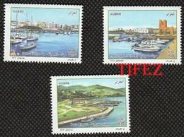 Année 2016-N°1749/1751 Neufs**MNH  : Ports De Plaisance : El-Djamila - Sidi-Ferruch -Tigzirt - Algeria (1962-...)