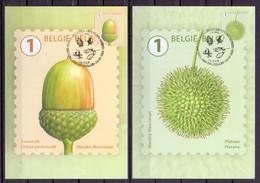 Belgie - 2021 - ** 10 Max. Kaarten - Herfstige Boomvruchten - Stempel 1ste Dag 14-06-2021 - Uitgifte Bpost - 2011-..
