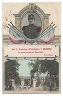 CAHORS - Souvenir Du 7ème D'Infanterie - Cahors