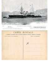 Flotte De Guerre Française - BOUVINES Garde-côtes Cuirassé - Chocolat Klaus - Non Classificati