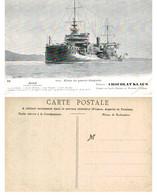 Flotte De Guerre Française - CARNOT Cuirassé à Tourelles - Chocolat Klaus - Non Classificati