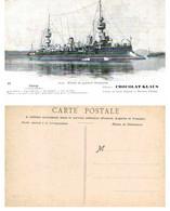 Flotte De Guerre Française - CHANZY Croiseur Cuirassé - Chocolat Klaus - Non Classificati