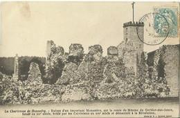 CPA De LA CHARTREUSE DE BONNEFOY - Ruines D'un Important Monastère. - Other Municipalities