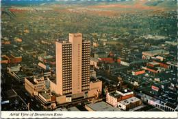 Nevada Reno Aerial View Of Downtown - Reno