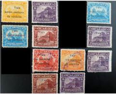 Nicaragua-Catedral Y&T 378-379-381-381B-382-385-389-392-394-395-397 - Nicaragua