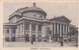9541) PALERMO - Teatro Massimo - Very Old ! - Palermo