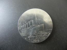 Medal Titanic 1912 - White Star Line - Non Classificati