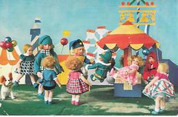 French Bulldog Toy, Bouledogue Français Jouet, Doll, Poupée, Puppe, Fair, Foire, Carrousel, Carousel - Dogs