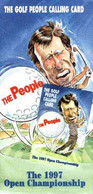 Telephone Card - United Telecom 'Golf People' (Nick Faldo) Calling Card #1 In Sealed Bag With Illustrated Literature For - Sport