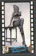 Telephone Card - Legends Of Holllywood #01 - 20 Units Phone Card Showing Marilyn Monroe (black & White Full-length) - Cinema