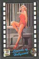Telephone Card - Legends Of Holllywood #02 - 20 Units Phone Card Showing Marilyn Monroe (colour Full-length) - Cinema