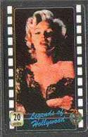 Telephone Card - Legends Of Holllywood #06 - 20 Units Phone Card Showing Marilyn Monroe (colour Half-length) - Cinema