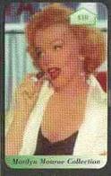 Telephone Card - Marilyn Monroe Collection £10 Discount Phone Card - Cinema