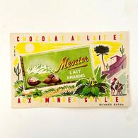 Chocolat Meunier - Lait Et Amande Grillée - Buvard Ancien - Illustration A. Helbé - Cocoa & Chocolat